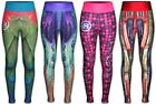 WOMEN's YOGA TIGHT FITNESS LEGGING GYM RUNNING CYCLING WEAR-SUBLIMATED ATHLETIC