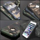 Camouflage Apple iPhone 8 Case Military Camo Army Rugged Rubber Slim
