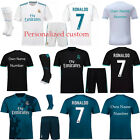 17-18 RONALDO BALE Football Soccer Sport Jersey Kit Kids For 3-14 Y Team Suits