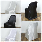 200 pcs Satin Folding CHAIR COVERS Wedding Catering Party SALE - FREE SHIPPING