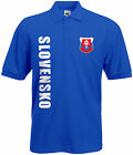 WM 2018 Slowakei SLOVENSKO Polo-Shirt Trikot Name Nummer