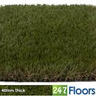 Artificial Grass, Quality Astro Turf, Cheap, Garden Green Lawn 40mm Thick Grass