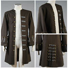 Used, Pirates Of The Caribbean Captain Jack Sparrow Cosplay Costume Jacket Coat for sale  Shipping to Canada