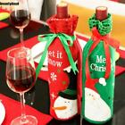 Snowman Christmas Candy Bags Wine Stocking Bottle Gift Bag Xmas Decoration f