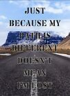 Just because my path os different i'm lost metal wall plaque sign home office