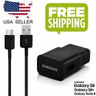 Original Samsung Galaxy S8 S8 plus Adaptive Fast Wall Charger with Type-C Cable