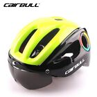 Cycling Helmet MTB Road Bike Sports Bicycle Safety Helmet With Goggles Sun Visor