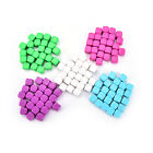 25pcs Blank Six Sided Dice acrylic 16mm D6 Party Game Counting Cubes BH