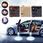 2x Wireless Car LED Door Welcome Light Projector Courtesy Shadow for VOLVO AUDI