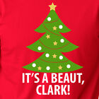 IT'S A BEAUT CLARK funny Christmas vacation tree movie lights griswold T-shirt