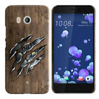 For HTC U11 Ocean HARD Protector Back Case Phone Cover + PEN