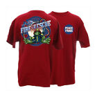 Peace Frogs Youth Firefighter Short Sleeve T-Shirt