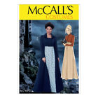 McCalls Sewing Pattern Cropped Jacket, Long Coat & A-Line Dress | M7493