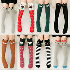 red tights kids - Baby Kids Toddlers Girls Knee High Socks Tights Leg Warmer Stockings For Age3-12