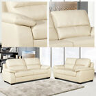 ARTENA High-Back Leather Sofas 3 + 2 Seaters + Armchairs + 1 Year Guarantee