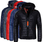 Geographical Norway Herren Herbst Jacke Steppjacke Parka Übergangs softshell MIx