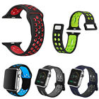for Apple iWatch Series 6 5 4 3 2 1 SE Bands Sport Silicon Watch WristStrap Band