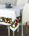 Christmas Garland Border Tablecloths - Assorted Sizes!