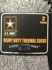 2 Pack US Army Thermal Socks Warm Heavy Duty Boots Hiking Cold 5-29 Degrees