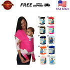 Original MOBY Wrap Soft Infant Baby Carrier Breastfeed Sling Cotton Backpack