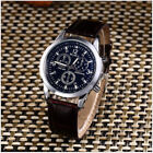 Luxury Date New Watch Crocodile Faux Leather Men's Fashion Military Analog Watch
