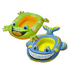Kids/Children Swimming Inflatable Frog & Dolphin Boat Beach Pool Party UK Seller