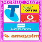 Telstra◉Optus◉Boost◉Vodafone◉AmaySIM◉Lebara◉$2 Tri-Cut SIM Card Starter Kit◉4G◉