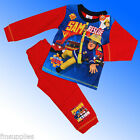 Boys Official Genuine Fireman Sam Pyjamas Age 18 Months 2 3 4 5 Years Rescue