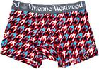 Vivienne Westwood Man Japan Underwear Boxer Star Tooth Orb Embroidered-Size M