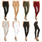 Slim High Waisted Skinny Pencil Stretch Pants Trousers Leggings Women's New
