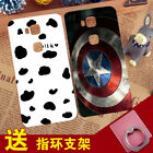 For Huawei 5X Cute Milk Cow Soft Silicone Case Shockproof Rubber Cover Skin