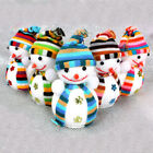 1/ 5XChristmas Snowman Cute Ornaments Festival Party Xmas Tree Hanging Decor LOT