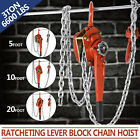 Внешний вид - 3.0 Ton Lever Block Chain Hoist 1.5M-6M Gear Lift Pull 5 /10/20ft 6600lbs