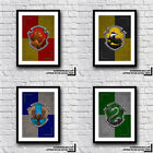 FAN MUST HAVE Harry Potter Syltherin House Crest Print Various Designs And Sets