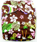 Baby Printed Cloth Nappy Reusable Cloth Nappies Diaper Covers Liner Insert CAUS