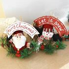 Christmas Door Hanger Window Tree Decoration Store Shopping Mall Party Display