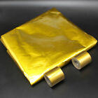 SELF ADHESIVE REFLECTIVE GOLD HIGH TEMPERATURE HEAT WRAP TAPE HEAT SHIELD NEW