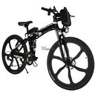 4 Types 25/26'' Electric Folding Mountain Bike Cycling Bicycle Outdoor Camping