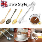 Stainless Steel Cute Cat Shape Skull Head Coffee Spoons Tea Spoon Stirring Spoon