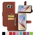 Luxury Card Wallet Stand Flip PU Leather Case Cover For Samsung Galaxy S7
