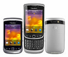 "3.2"" Unlocked BlackBerry Torch 9810 8GB 5MP Wifi Silver Slider GSM Smartphone"