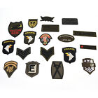 Military Motif Embroidered Patches for Clothing Sew Iron on Clothes AppliquesB $0.77 USD