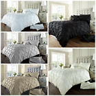 Alford Diamond Pintuck Luxury Double / King / Super King Duvet Quilt Cover Set