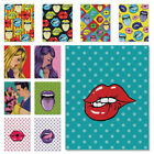 Pop Art Design Canvas Artwork Wall Decor Poster for Home Office Living Room
