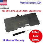 Lot New Laptop Battery For Dell XPS 12 (9Q23) 13 (L321X) L322X Y9N00 489XN USA