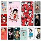 Cute Sexy Betty Boop Case for iPhone SE 5 6 7 8 plus X 10 Samsung S J A Huawei P $4.59 USD