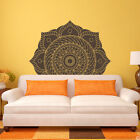 Mandala Medallion Vinyl Wall or Ceiling Decal - fits living room