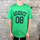 Addict College 08 Tee T-Shirt New - Size: M - Green