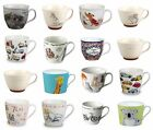 Set Of 4 Portobello Coffee Tea Mugs Cups For Home or Office - 17 DESIGNS TO PICK