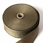 Titanium Exhaust Heat Header Downpipe Manifold Thermal Wrap - Various Size + Tie